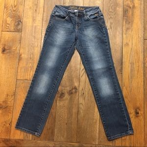 🌵Justice Girls Jeans Simply Low Denim Stretch 10